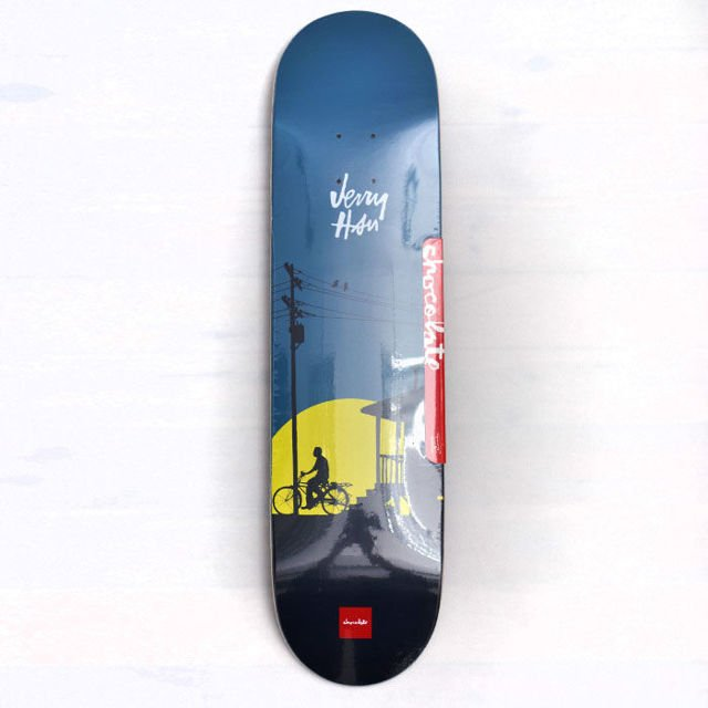 Deck Chocolate Hsu Crail Classics-Sunset 8.0