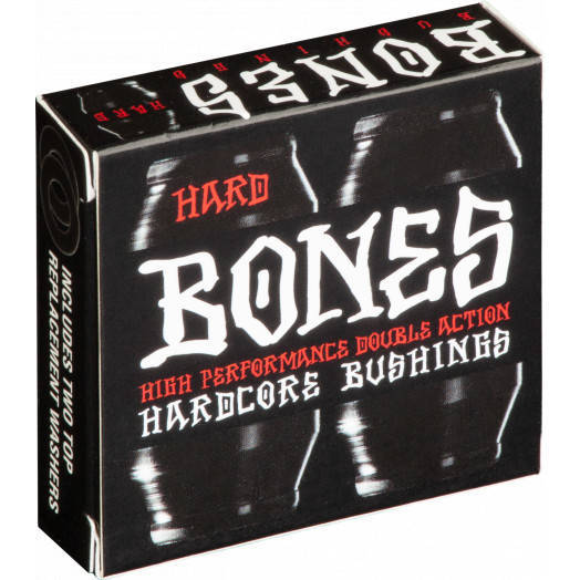 Gumki BONES Hardcore Bushings Black Hard