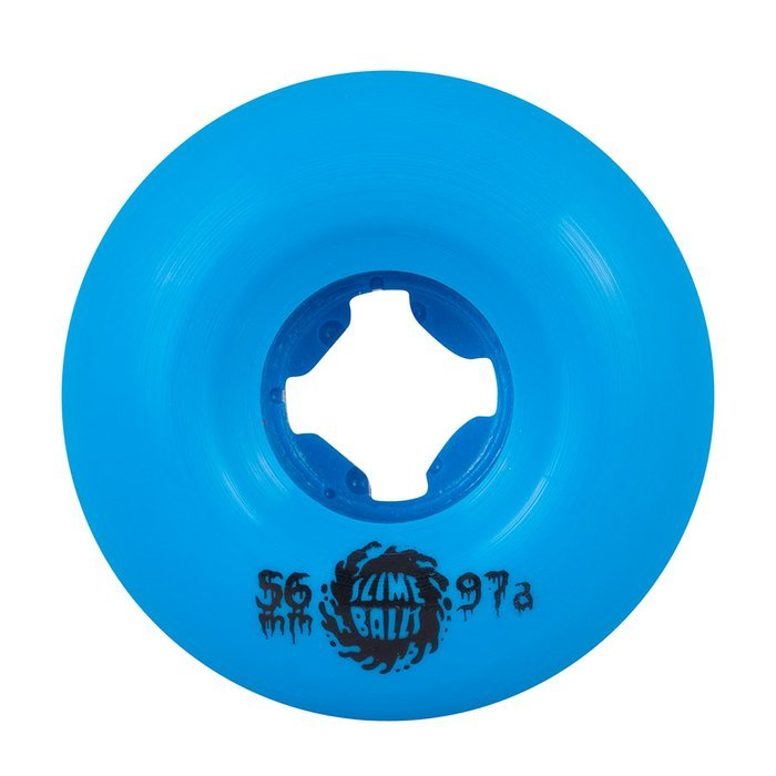 Koła do deskorolki Santa Cruz Slime Balls Munchers Vomit Mini 97A 56mm neon blue (4szt.)