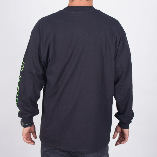 Koszulka Thrasher L/S Atlantic Drift Blk