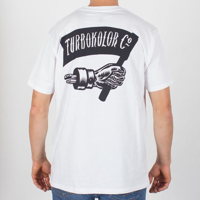 Koszulka Turbokolor Thread Hand Wht
