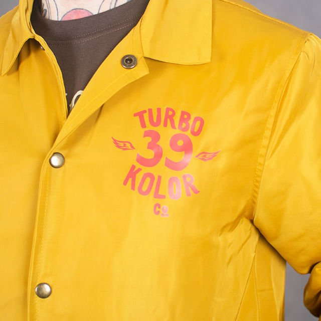 Kurtka Turbokolor ss17 herald yellow