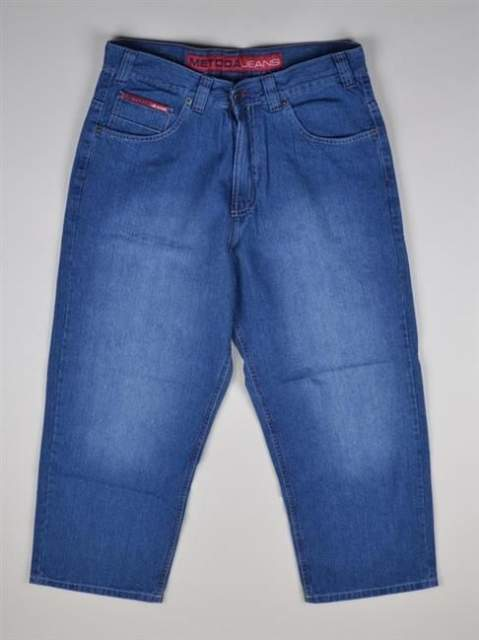 METODA 03 SPODNIE JEANS REDLINE LIGHT BLUE
