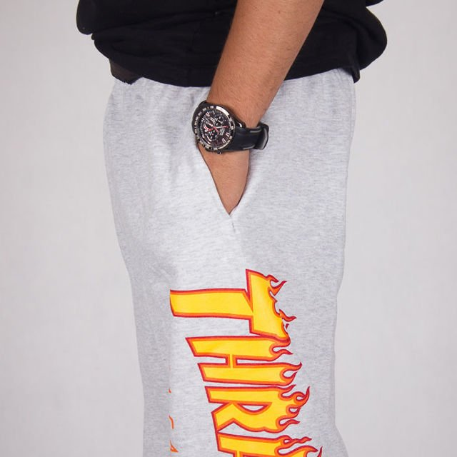 Spodnie Thrasher Flame Sweatpants