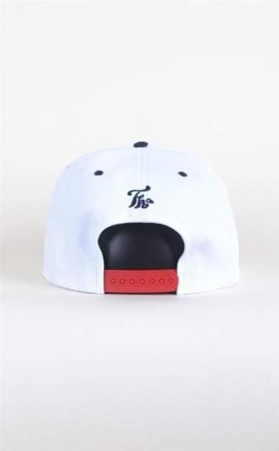 TURBOKOLOR CZAPKA SNAPBACK WHITE/NAVY/RED